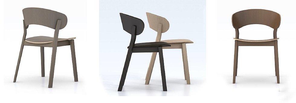 Krzesło DOMA kolekcja krzeseł nowoczesnych do salonu