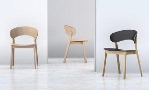 Nowoczesne krzesło z kolekcji DOMA dwukolor