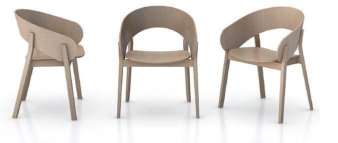 Fotel DOMA kolekcja krzeseł nowoczesnych do salonu